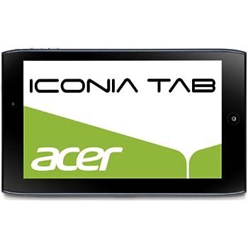 Acer Iconia A100 17,8 cm (7 Zoll) Tablet-PC (NVIDIA Tegra2, 1GHz, 1GB RAM, 8GB Flashspeicher, Android 3.2) blau