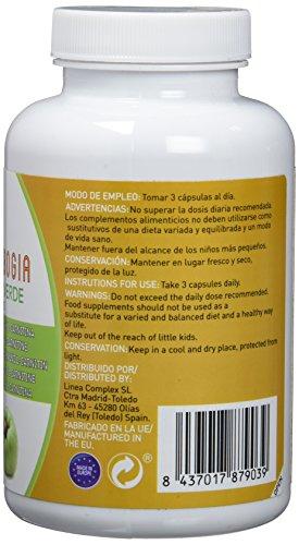41vyVUx0EvL - Garcinia cambogia con L-carnitina y té verde para reducir el apetito y acelerar el metabolismo LINEA COMPLEX 180 capsulas - suplemento alimenticio con potentes propiedades adelgazantes