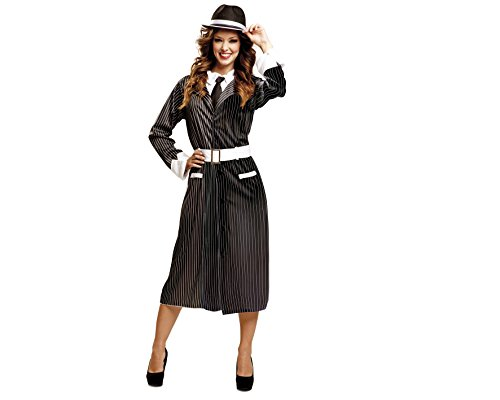 My Other Me Me - Disfraz de Gánster mujer, talla S (Viving Costumes MOM00516)