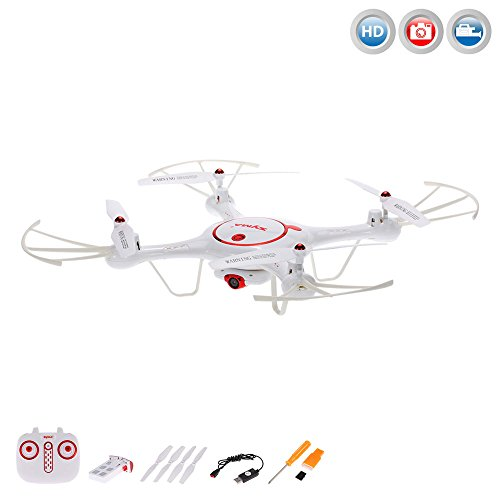 x5uc Pro Edition con cámara HD–4.5de canal cuadricóptero teledirigido 3d dron, Auto distendidos/Aterrizar, trasera Holm ODUS, headless y muchas otras...