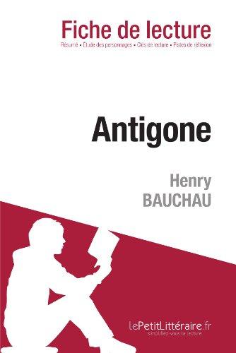 Antigone de Henry Bauchau (Fiche de lecture)