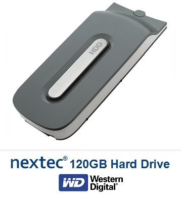 New - Xbox 360 (120 GB) Hard Disk Drive HDD for Microsoft Xbox 360 Console