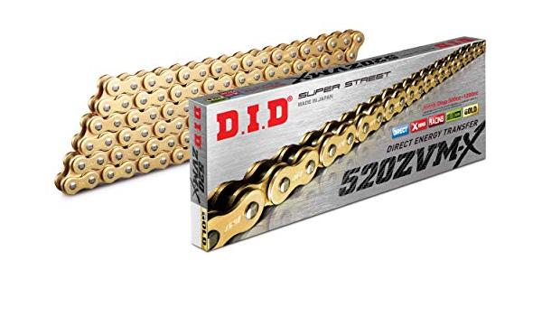 Did Kette 520 Zvmx 116 Glieder X Ring Gold Offen Mit Nietschloss Auto