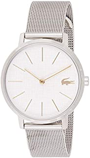 Lacoste Womens Quartz Wrist Watch, Analog and Stainless Steel- 2001078