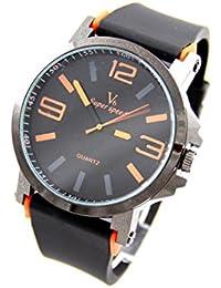 V6 Montre Homme MONTRE2796 - Reloj , correa de silicona color negro