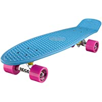 Ridge Big Brother Cruiser - Skateboard, color azul/rosa, 69 cm