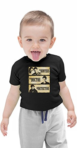 The Hunters The Doctor And The Detective Organic Baby T-shirt, Vêtements