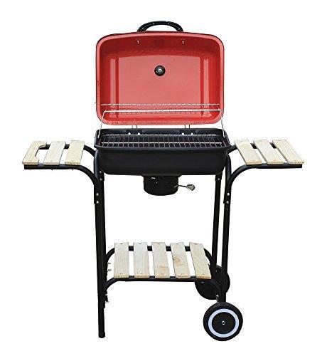 BBQ-a-carbonella-in-metallo-con-tre-ripiani-in-legno-30192T-L100h83p48cm