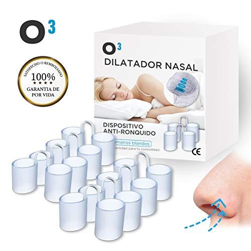 O³ Dilatador Nasal - 8 Antironquidos Nasal De Silicona