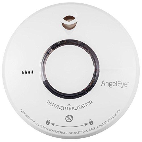 Rauchmelder Angeleye ELEGANCE EXPERT ST 620 Akkulaufzeit 10 Jahre - 10 Jahre Garantie