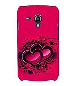 printtech Heart Couple Love Back Case Cover for Samsung Galaxy S3 Mini::Samsung Galaxy S3 Mini i8190