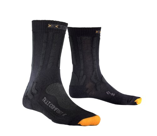 X-Socks, Calze tecniche Unisex Trekking Light & Comfort, Multicolore (charcoal/ anthracite), 42/44