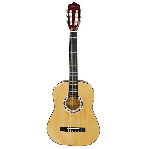 Rocket CG34N - Guitarra clásica española de tamaño 3/4