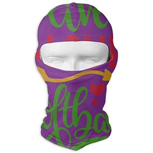 Jxrodekz Live Love Softball Motorcyle Gesichtsmaske Multifunktionssport Magie Kopfbedeckung Tuff-dome