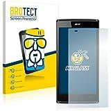 BROTECT AirGlass Protector Pantalla Cristal Flexible Transparente para Acer Liquid Z5 Z150 Protector Cristal Vidrio - Extra-Duro, Ultra-Ligero, Ultra-Claro