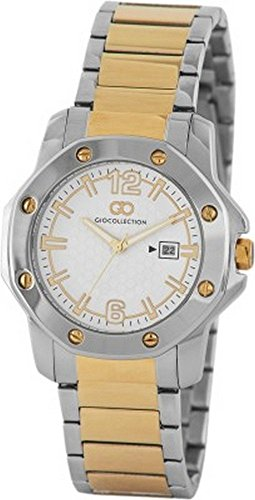 Gio Collection Analog White Dial Men's Watch - G1004-44