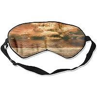 Sleep Eye Mask Sandy Beach Lightweight Soft Blindfold Adjustable Head Strap Eyeshade Travel Eyepatch preisvergleich bei billige-tabletten.eu