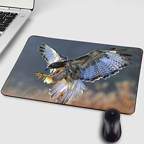 Neue Muster Falcon Animals Haustier Hund Katze Muster Druck Mini Pc Tablet Computer Gamer Mousepad für Verbessern Maus Speed-250X200X2MM -