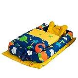 BINGMAX Babynest Kuschelnest Faltbett tragbar Babybett Reisebett Babybett tragen Quilt (0-24 Monate) mit Mach dir keine Sorgen über das Baby fallen, wenn Sie schlafen