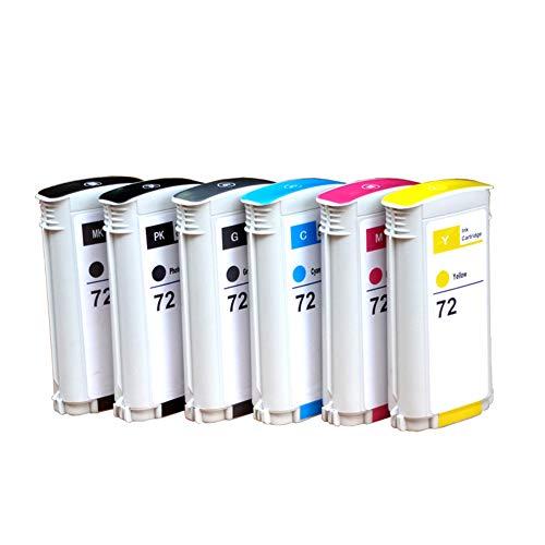 GYBN Umweltschutz Druckerpatrone mit Chip für HP 72 Patronen Wide Plotter T1100 T790 T610 T795 T770 T620 T1200 T1120 T2300 T1708 Druckerpatronen