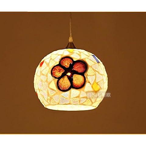 illuminazione lampadario in stile europeo, ristorante con giardino bar lampadario conchiglie paese americano lampada da letto studio corridoio Arts - Chiocciola Conchiglie