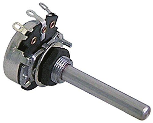 Rational Potentiometer für Kombidämpfer CM201, CM101, CM20, CM6 5000Ohm 27mm Drehwinkel 270° Achse 6mm