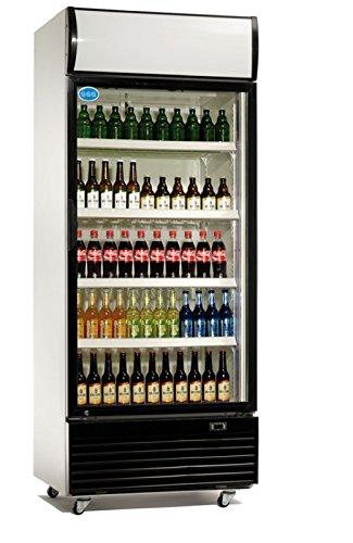 Flaschenkühlschrank 660 Liter Kühlschrank Umluftkühlung Getränkekühlschrank Gewerbekühlschrank 840 x 730 x 2036 mm