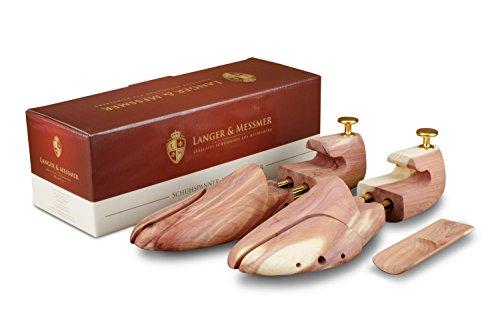 Langer & messmer, tendiscarpe in legno di cedro, misure 36/37, l'originale