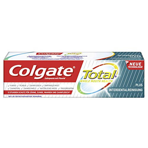 Colgate Total Zahnpasta Plus Interdentalreinigung, 75 ml -