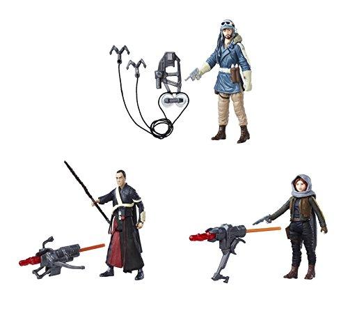 3 Stück Star Wars Figuren, Rebel Bundle bestehend aus Jyn Erso, Cassian Andor und Chirrut Imwe thumbnail