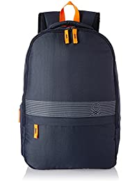 United Colors of Benetton 18 Ltrs Blue Casual Backpack(17A6BKPK0L21I)