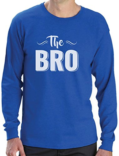 The Bro - Cooles Design Shirt für den Bruder Langarm T-Shirt Blau