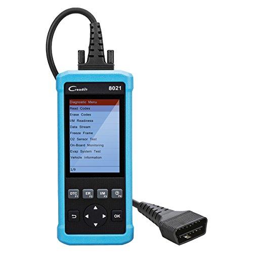 OBD2 Scanner Launch CReader 8021 Auto Codeleser OBDII / EOBD Scanner Diagnosescan-Werkzeug für ABS / SRS, Unterstützung EPB / SAS / BMS und Öl-Service-Licht Resets (Obd Ii Scanner Abs)