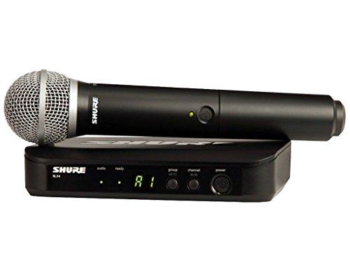 Shure - Blx24 pg58 microfono inalambrico de mano blx-24pg58
