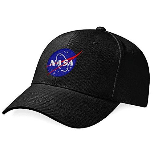 nasa-embroidery-logo-cap-black