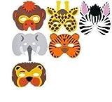 RETON 20 x Children's Foam Animal Masks