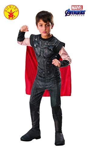 Rubie's Offizielles Avengers Endgame Thor, klassisches Kinderkostüm, Größe L, Alter 8-10, Höhe 147 cm