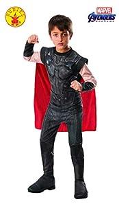 Rubies - Disfraz Oficial de Los Vengadores Endgame Thor, clásico para niños, tamaño Mediano, Edad 5 - 7, Altura 132 cm