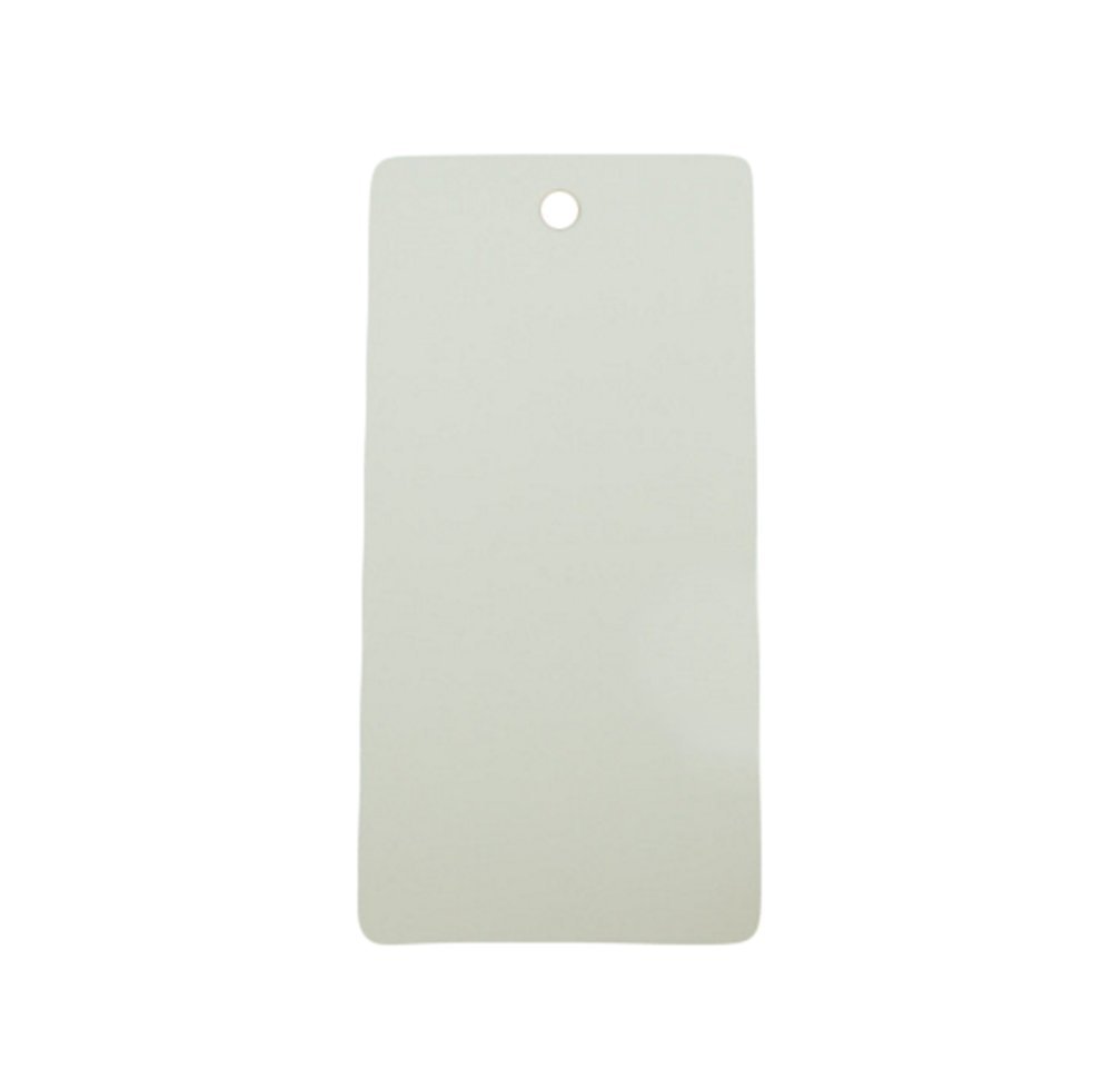 leisial 100pcs Etichette di piccola sospese di carta Kraft etichette decorazione regalo forma di rec
