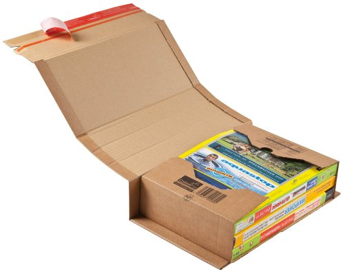20 ColomPac Buchverpackungen für DIN C4 / 32,5 x 25,0 x 8,0 cm