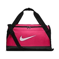 Idea Regalo - Nike Nk Brsla S Duff, Unisex Adulto, Rush Pink/Nero/Bianco, MISC