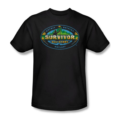 Survivor -- All Stars Erwachsener T-Shirt Black
