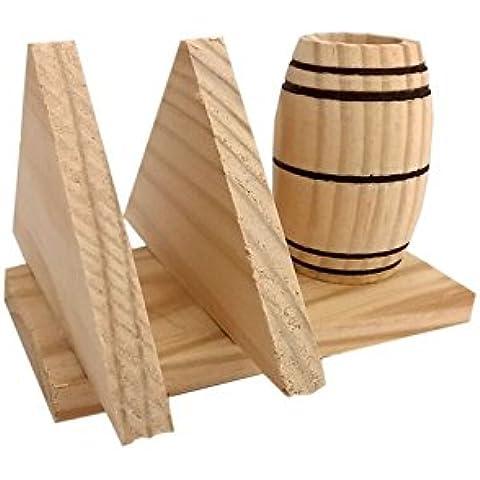 Acan - Palillero con servilletero de madera