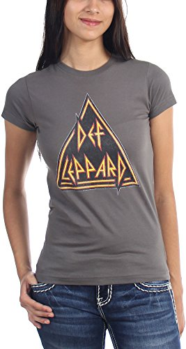 Def Leppard Women's Distressed T-Shirt. S to XXL