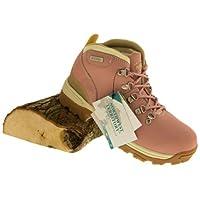 Northwest Territory Womens Trek Leather Walking Hiking Boots