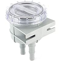 EBTOOLS Filtro de agua de mar, filtro de colador de agua de mar de entrada de 4,3 pulgadas, limpiador de protección del motor, accesorios de barco de refrigeración para manguera de 1/2 pulgadas