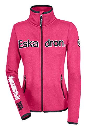 Eskadron Fleece Zip-Shirt Women Nicky POPPYPINK Fanatics FS19, Es19_ZwK_Gr.:XS