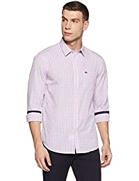 Arrow Sports Men's Checkered Slim Fit Cotton Casual Shirt