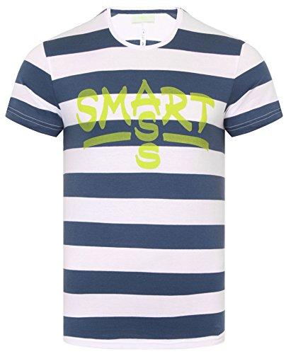 adidas Neo Smart A Team Herren T-Shirt , Weiß , Größe S
