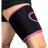 Gracorgzjs Sport Sicher Oberschenkelschutz Muskel- und Überspannungsschutz Pad Kompression Beinstütze preisvergleich bei billige-tabletten.eu